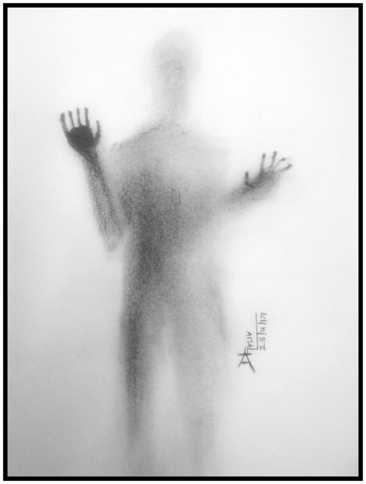 ghost ?? man glass? page check  - kiridhruv | ello