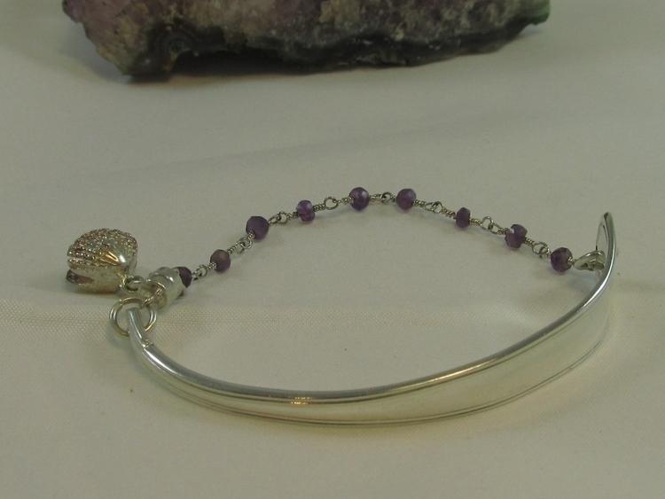 sterling silver spoon bracelet  - ateliercrafers   ello