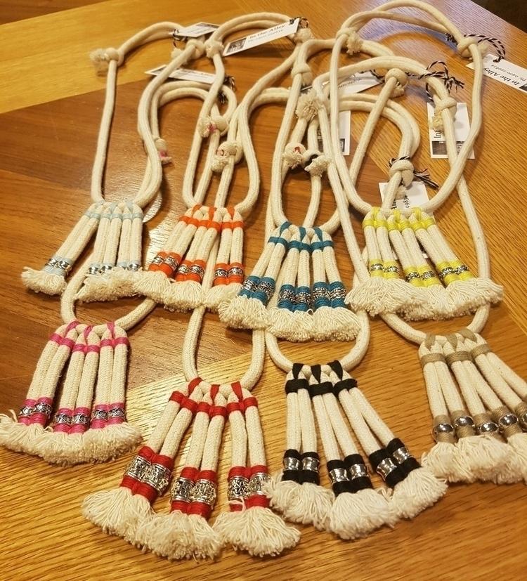 cotton rope boho adjustable nec - ateliercrafers | ello