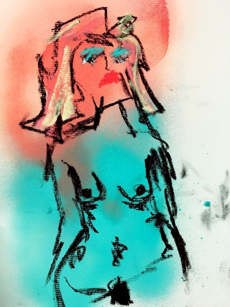 Untitled Nude - art, nude, ArtNude - jkalamarz | ello