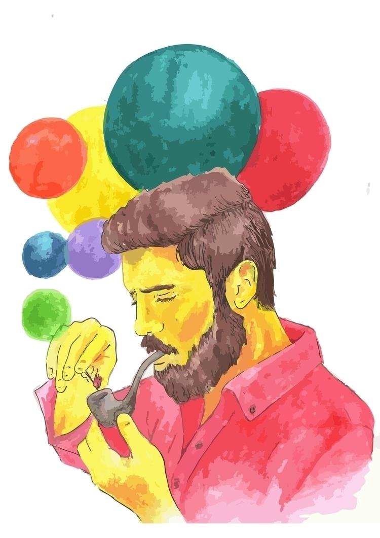 mí gustaría ser el humo amarill - zosilismo   ello
