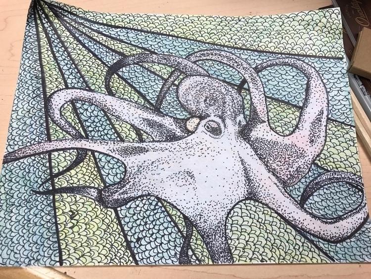 work stuff Colored pencil sharp - taisy_toes | ello