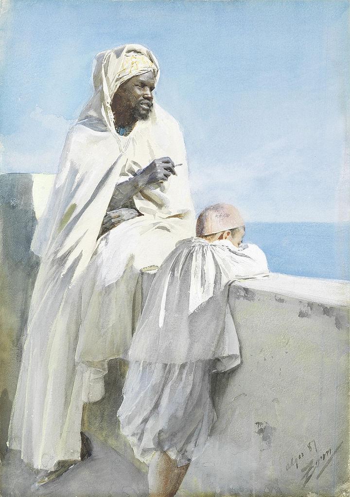 Anders Zorn: Man Boy Algiers, 1 - arthurboehm | ello