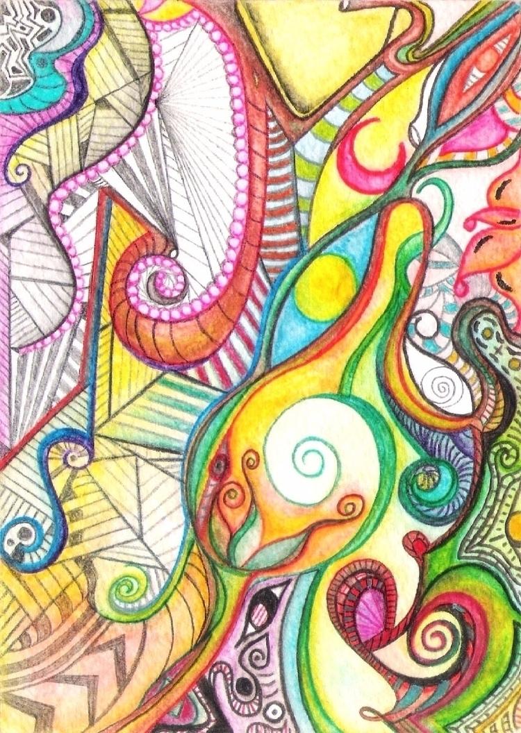Psychedelic / Watercolor - IV - micmazi | ello