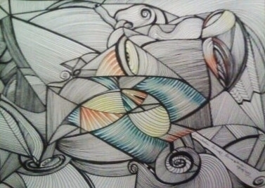 Lines/ Watercolor/ Nanny - VII - micmazi | ello