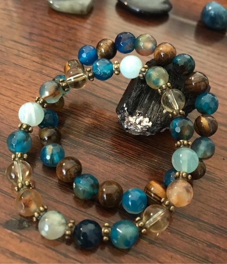 7 stackable bracelets. gorgeous - earthandspirittraders | ello