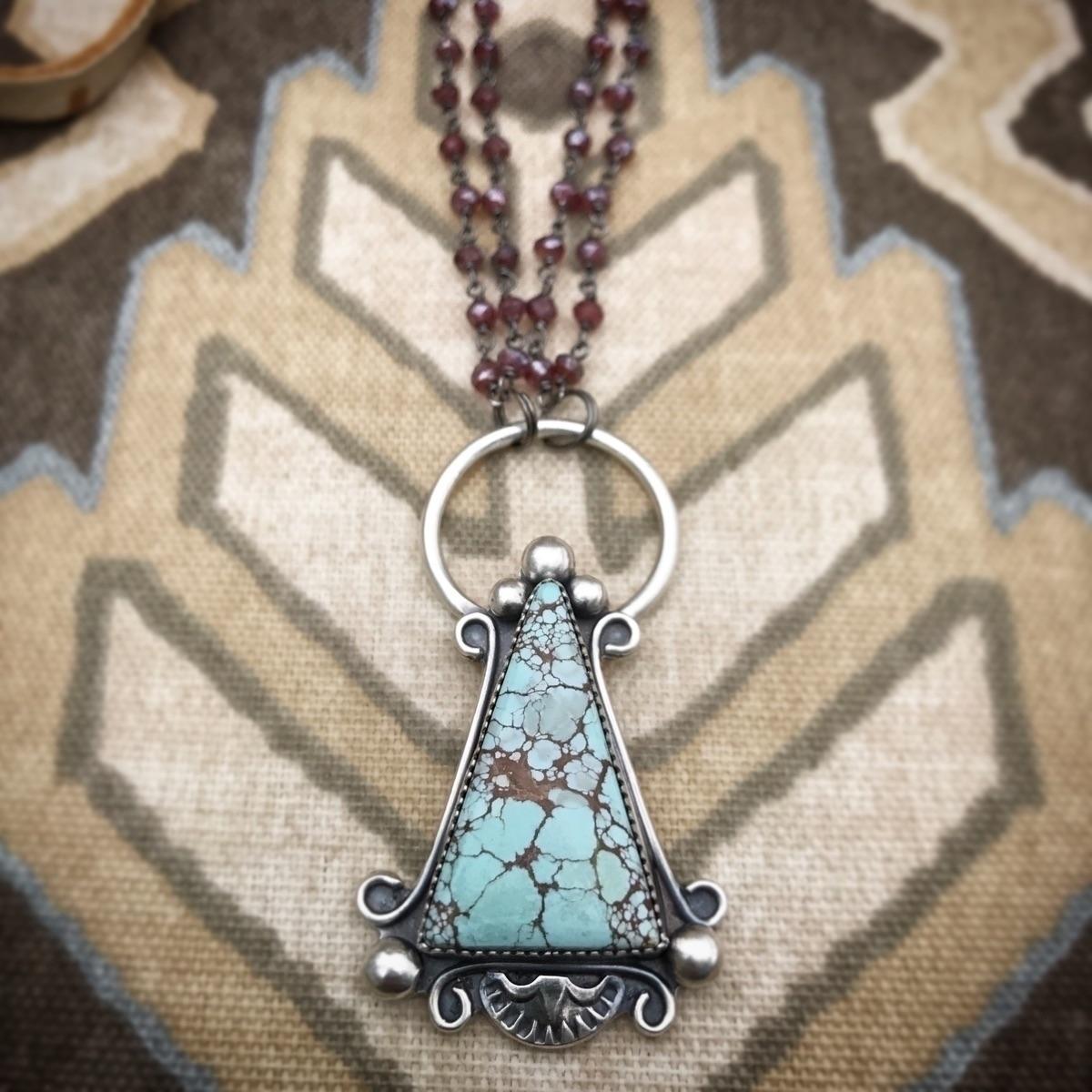 Long necklaces favorite. Lavend - sierrasagedesigns | ello