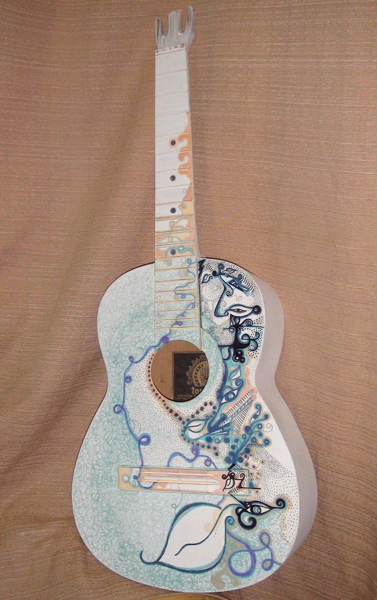 Guitar - Nanny/ Watercolor - micmazi | ello