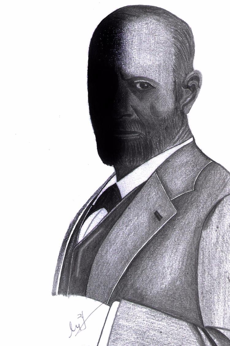 Freud - 6B Pencil - micmazi | ello