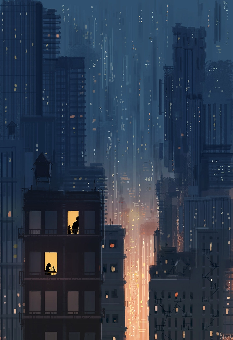 Sonder lights personal story, p - pascalcampion | ello