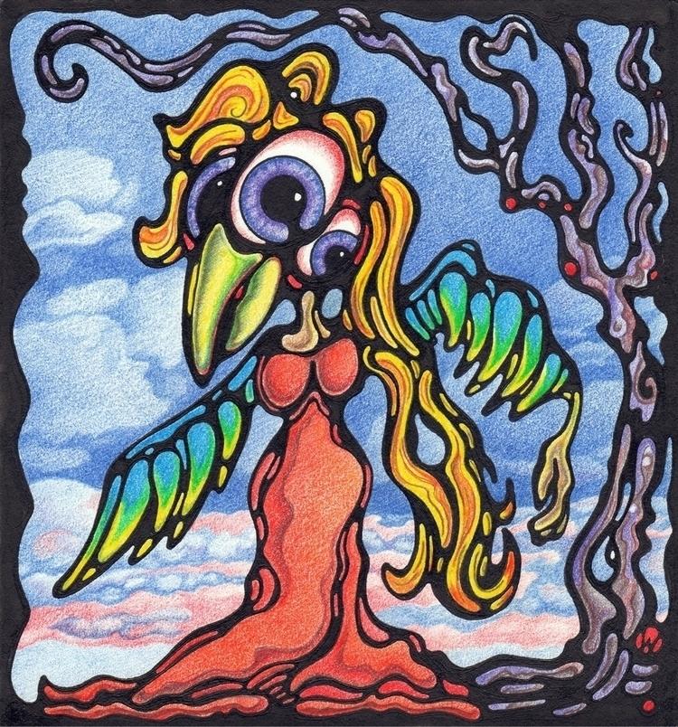 Eyes Lady Birdish (friend natur - winnman | ello