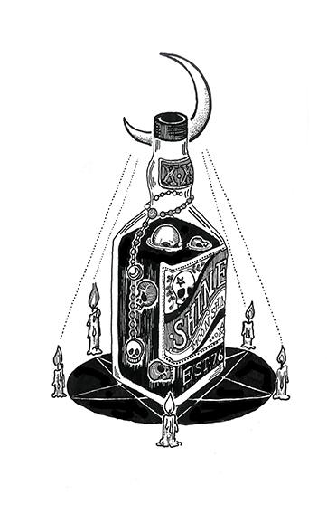 Drink bad - illustration, drawing - polkip | ello