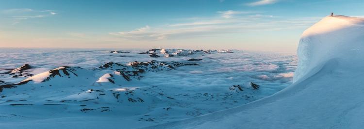 Snæfellsjökull, 700,000 year st - thomaswoodson | ello