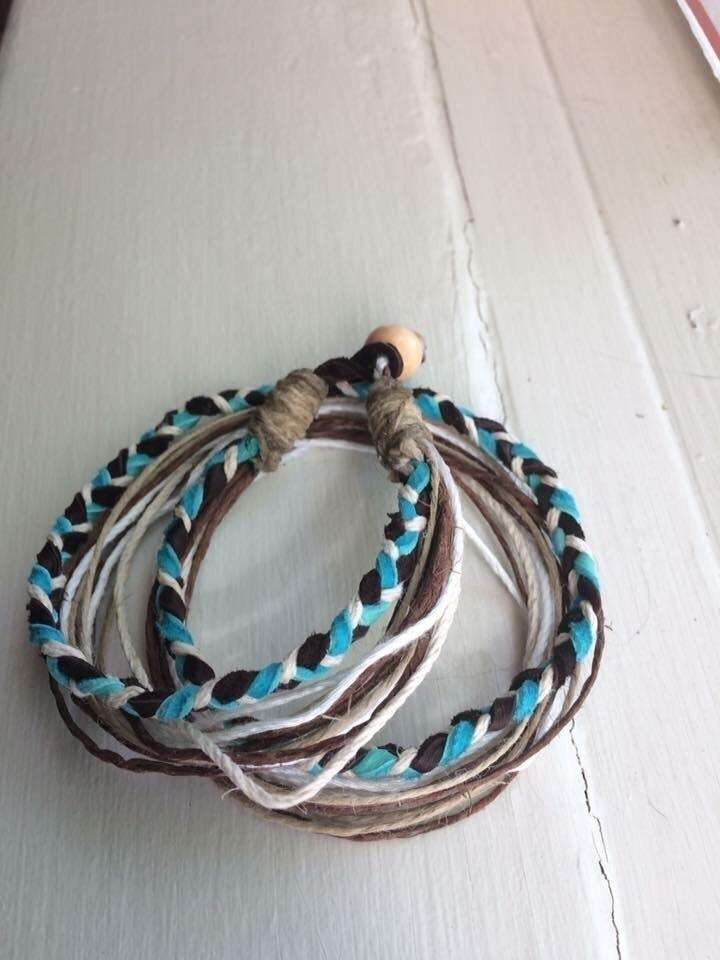 Multi-strand bracelets ($15.00  - hempbykayla | ello