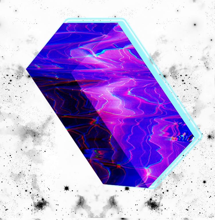 design, graphic, color, techno - sophiexs__   ello