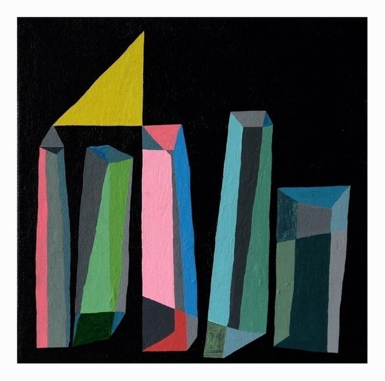 City 39. 20x20cm, 2016 - art, abstract - carpmatthew   ello