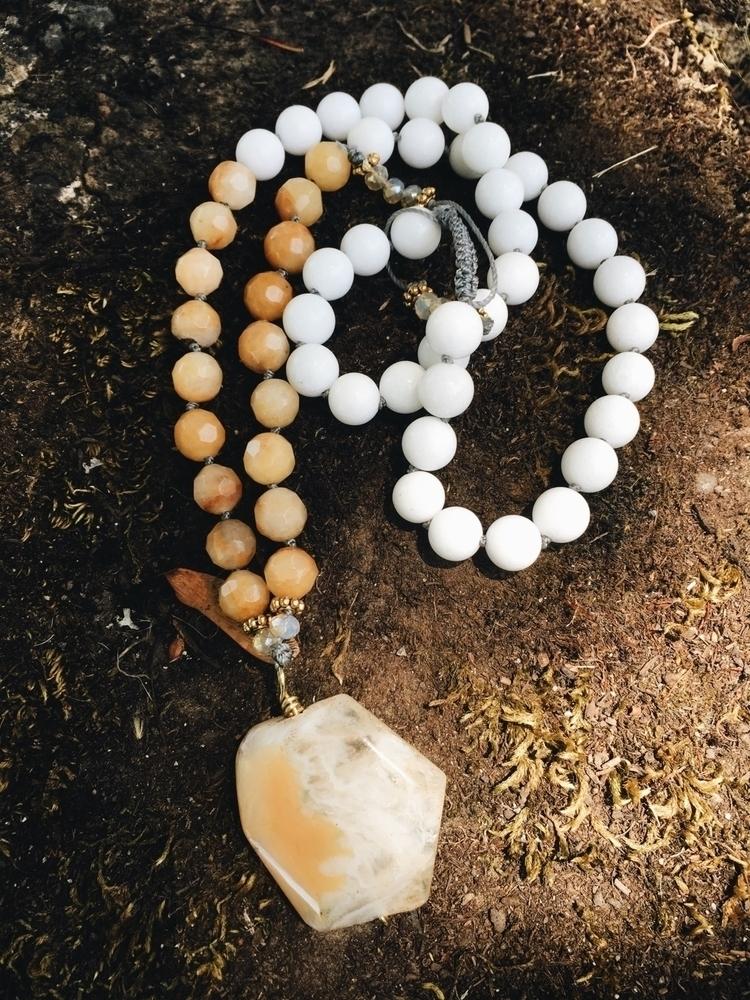 Sunshine long pendant necklace - gypsyxjewels | ello