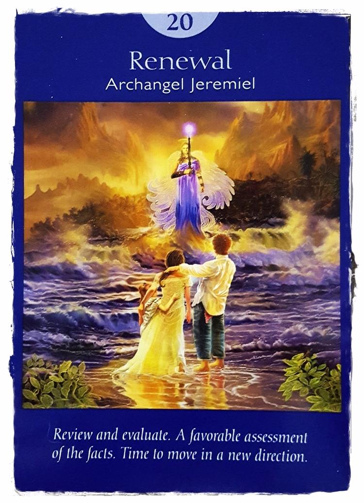 Angel Tarot ~ June 5 - ArchangelJeremiel - speedykitty | ello
