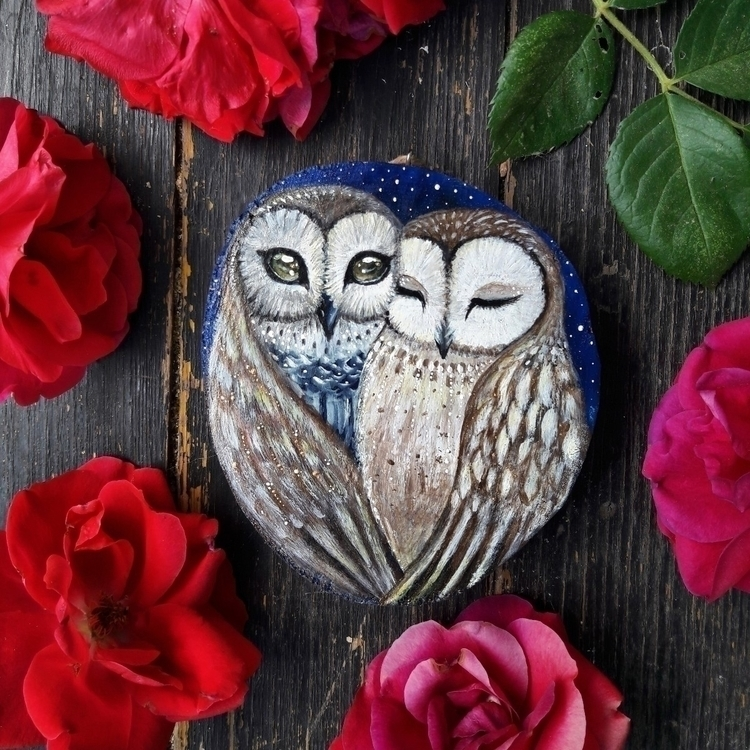 Owls love :two_hearts::sparkles - magicwood_creations | ello