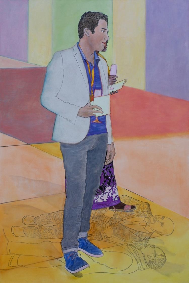 Ramiro Gomez Standing Kehinde W - malaykagormally | ello