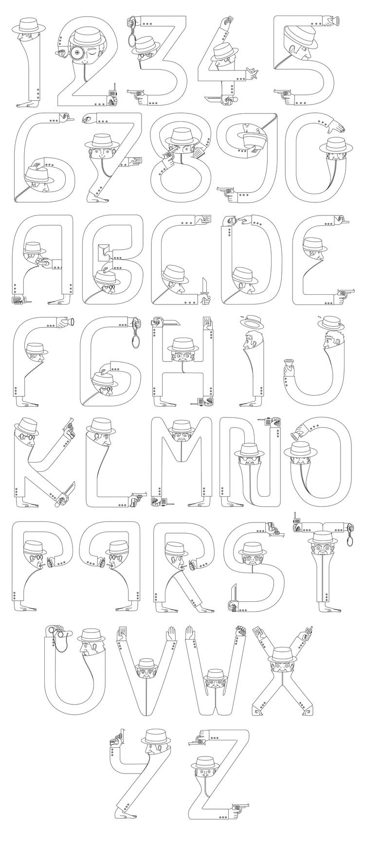 Enjoy  - Typograpghy, Illustration - tomrouleau | ello