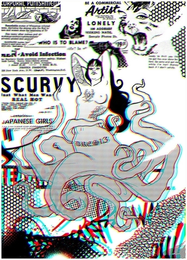 Scurvy | DRES13 - illustration, squid - dres13 | ello