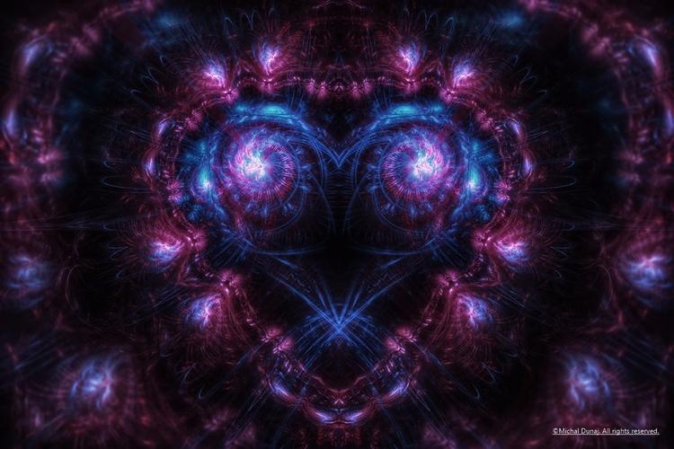 late night love - fractals, digitalart - pixeldreamer | ello