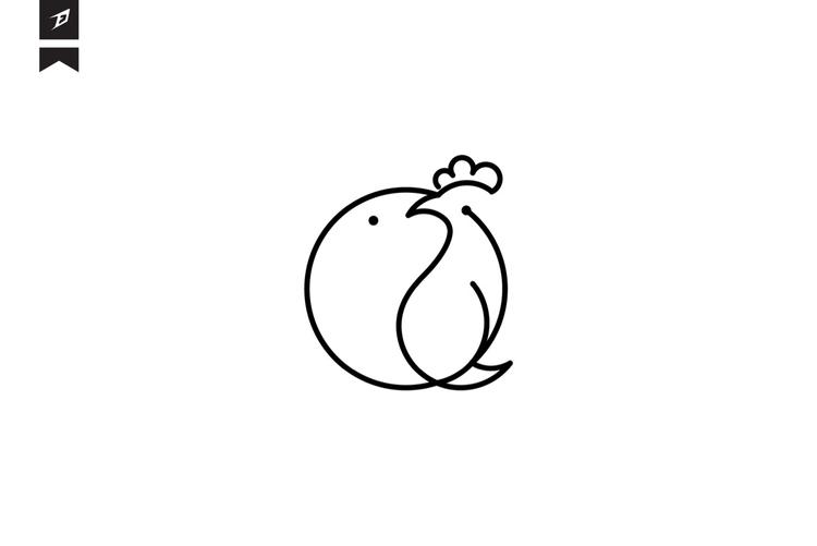 Fish chicken - fish, ellipse, illustrator - fahadpgd   ello