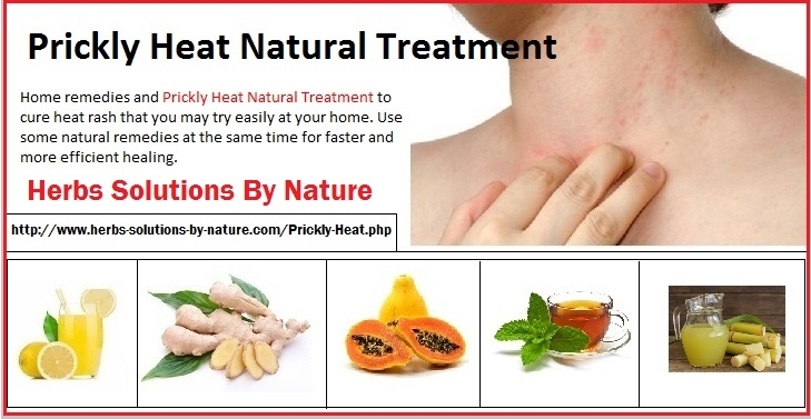 Natural Treatment Prickly Heat  - herbs-solutions-by-nature | ello