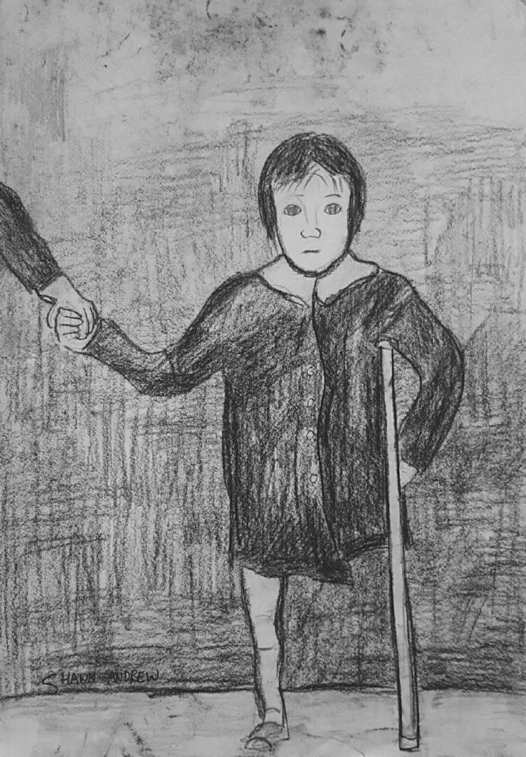 Victim war - Charcoal paper - ShawnAndrewArtist - shawnartist | ello