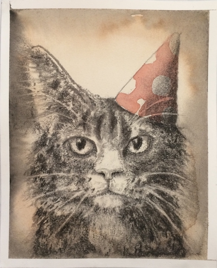 Birthdaycard brother watercolor - tlrgrd   ello