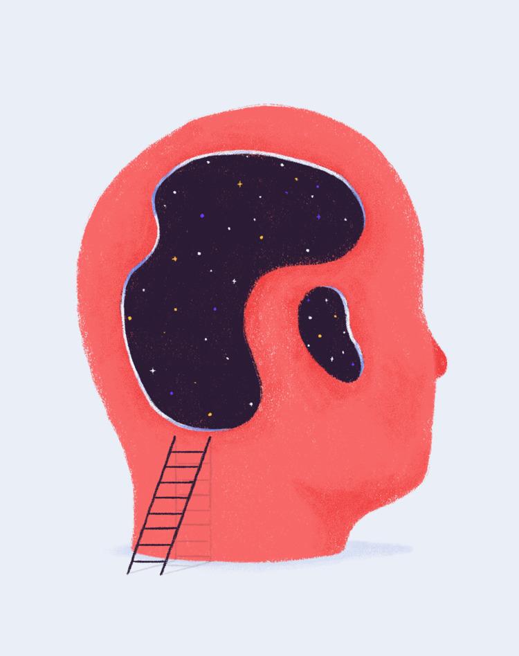 Mind mysteries - illustration, mind - juk | ello