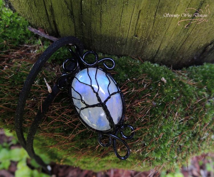 flashy tree life pendant wrappe - serenitywiredesigns | ello