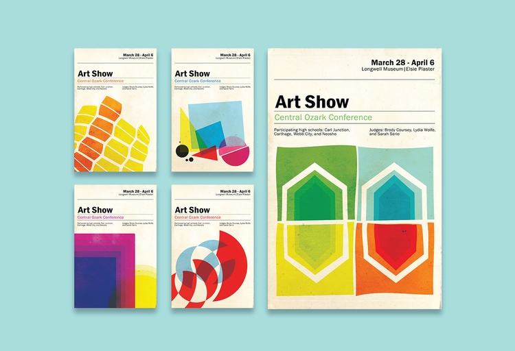 Art Show, Graphic Deign. Poster - kaylamonteleone | ello