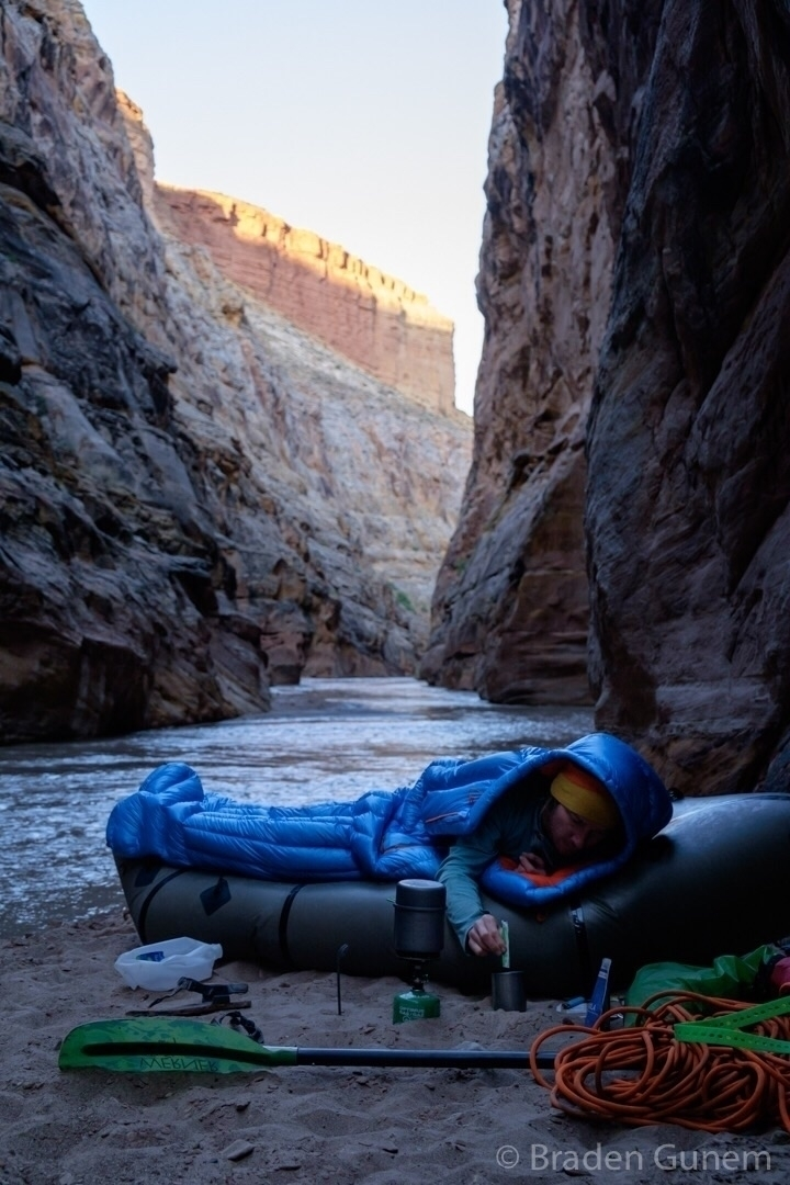 Coffee canyon - Utah, packrafting - bradengunem | ello
