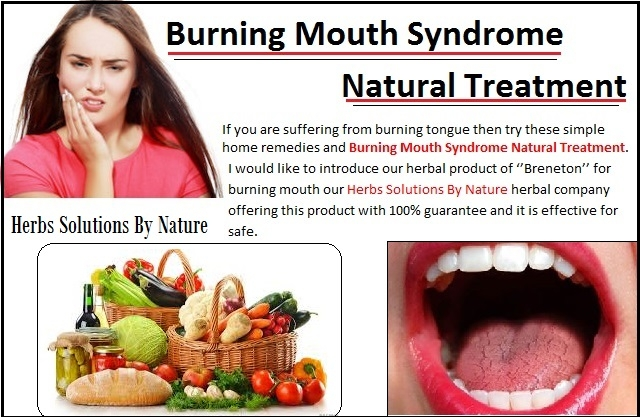 Burning Mouth Syndrome Natural  - herbs-solutions-by-nature | ello