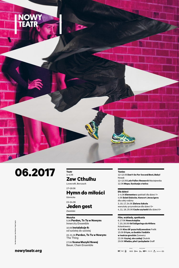 June Nowy Teatr - type2, nowyteatr - type2_design | ello