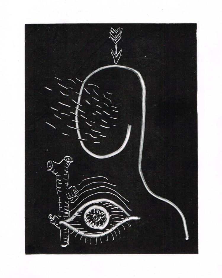 Varizione 3 - Monotype, Illustration - missingsock | ello