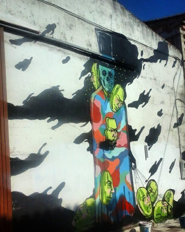Photos mural painting weekend A - nicolaenegura | ello