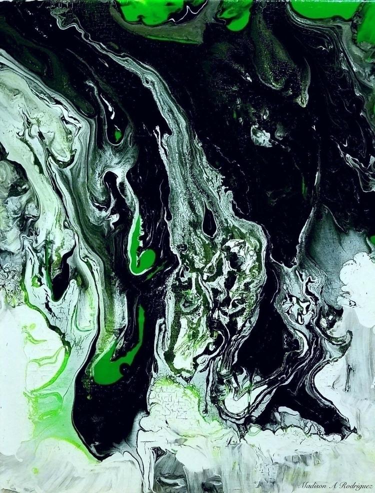 Electric - art, artist, painting - _stellarfinds | ello