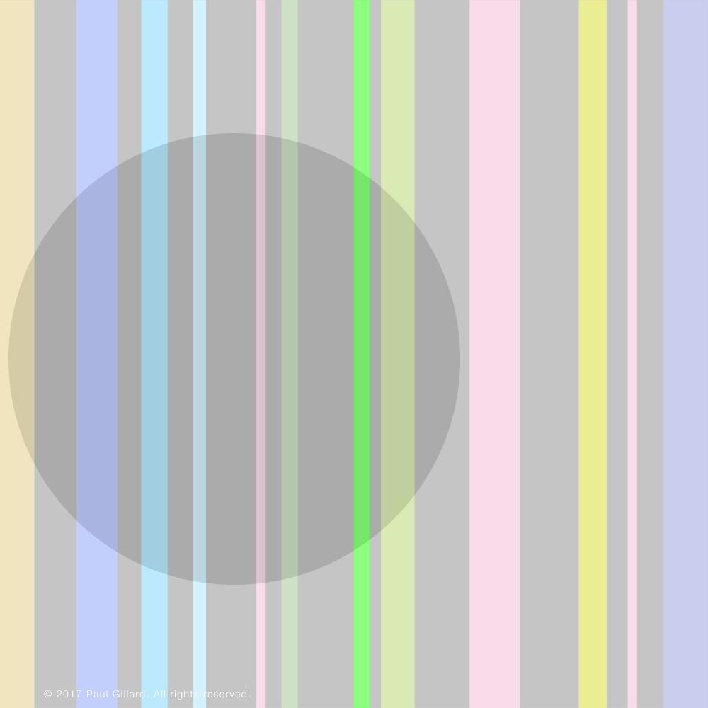 Title: 'Stripy World - art, stripes - paulgillard | ello
