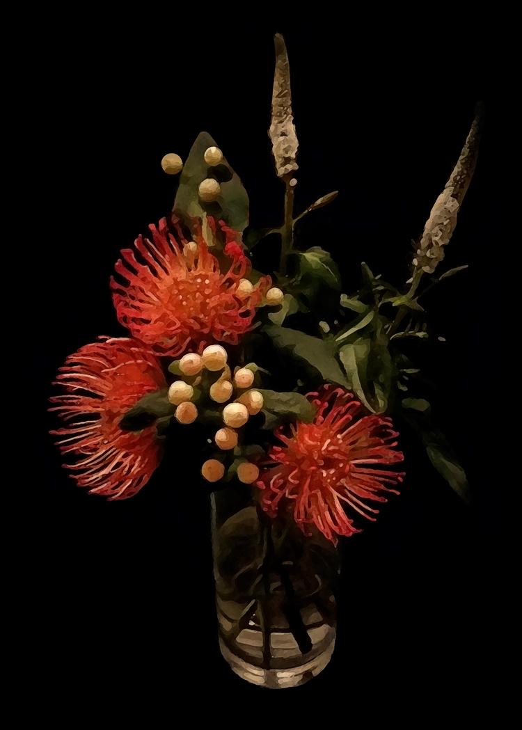 Vaso de flowers - work, juanoficio - juanoficio | ello