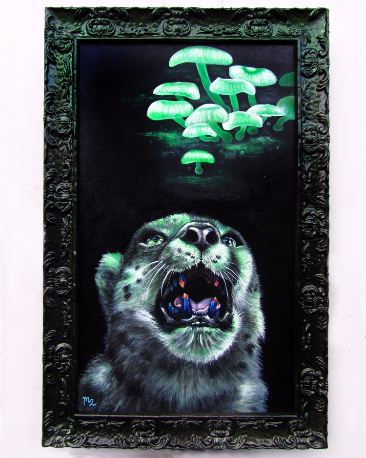 - Acrylic wood panel. piece cus - mayhemhere | ello
