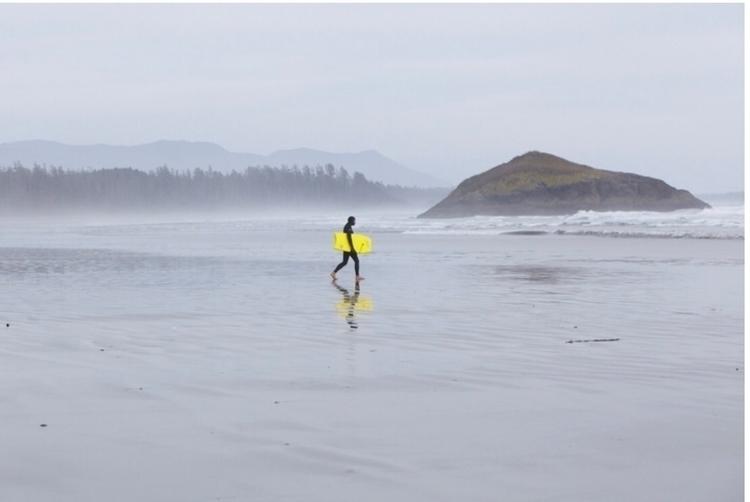 shot keith haist Tofino beach,  - tsiah | ello