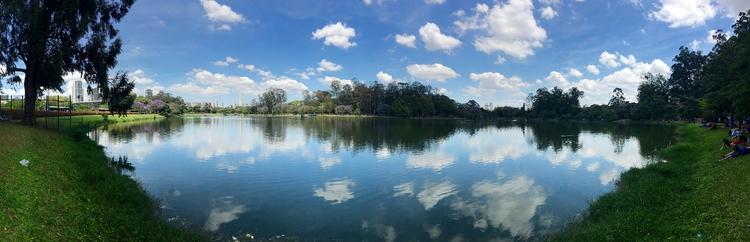 Lago Parque Ibirapuera em novo  - antoniomg | ello