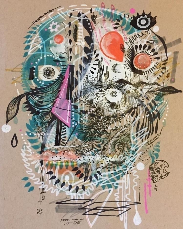 desert Ashley Macias - artist, mixedmedia - ashleymacias | ello