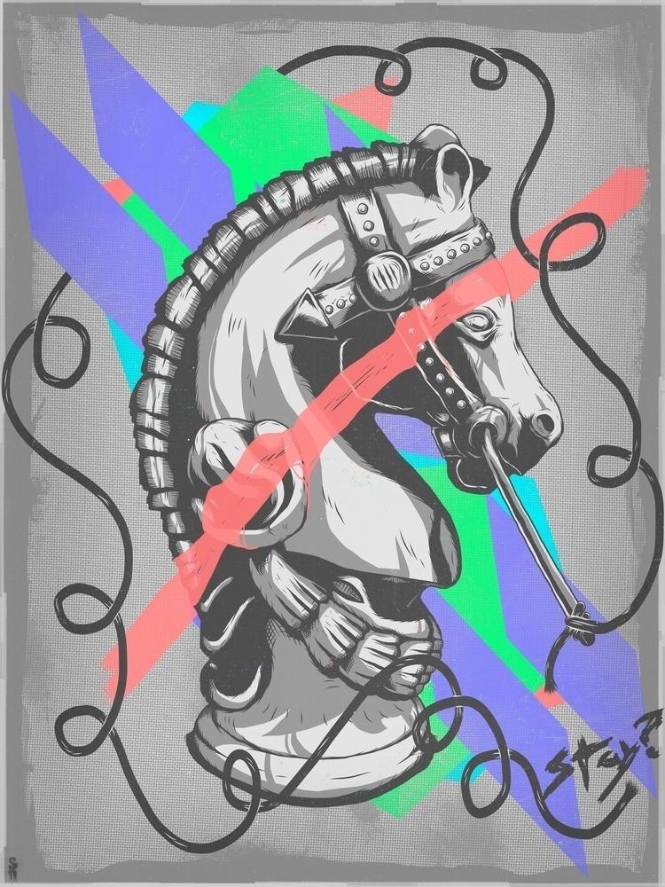 Stay? - art print - illustration - jstoutillustration   ello