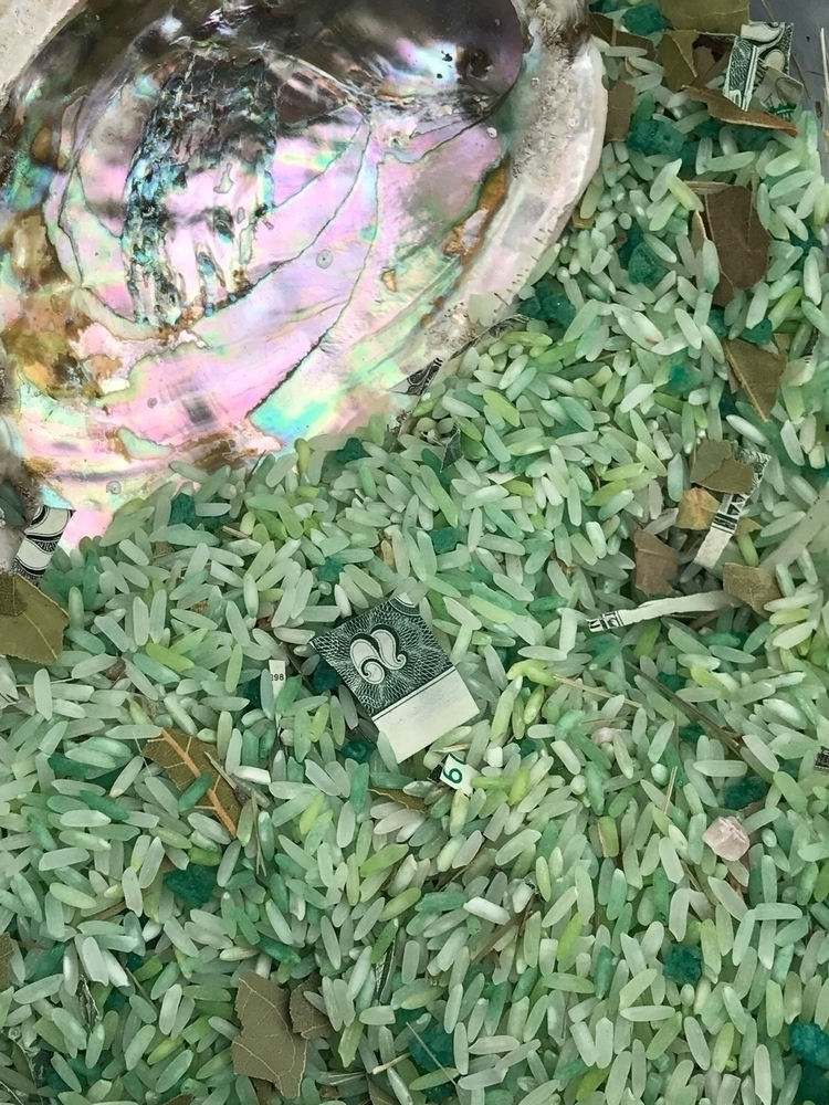 Green Prosperity Rice attract l - godsheavenlyscents | ello