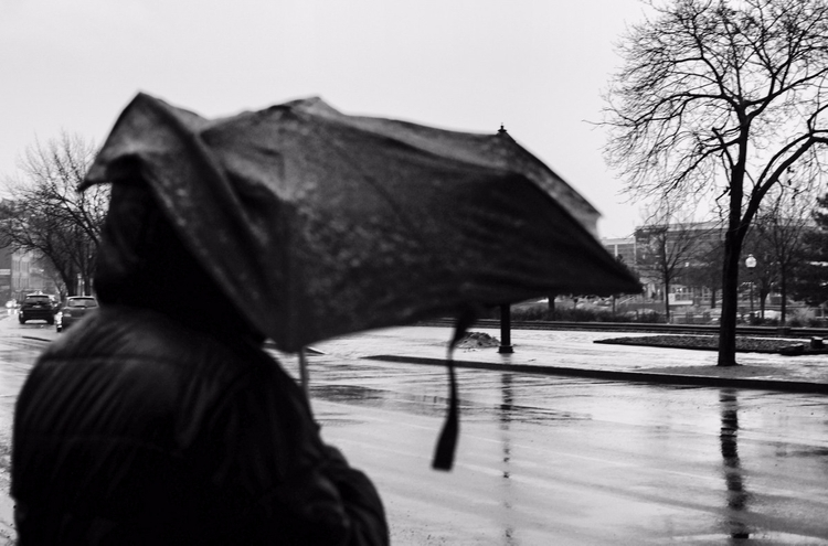 Broken umbrella - blackandwhiteisworththefight - maximemartin | ello
