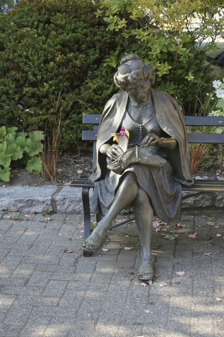 Resting - photography, statue, flower - texaschris13 | ello
